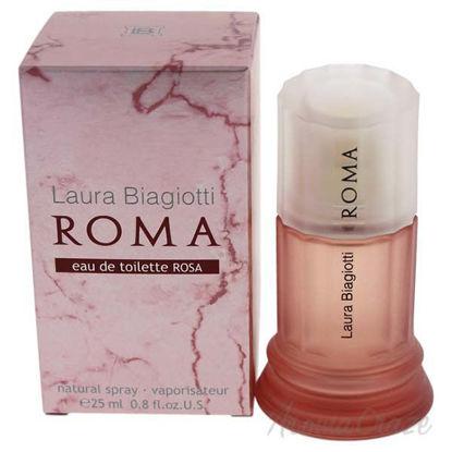 Roma Rosa by Laura Biagiotti for Women - 0.85 oz EDT Spray