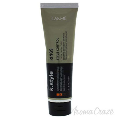 K-Style Rings Curl Activator Balm by Lakme for Unisex - 5.04