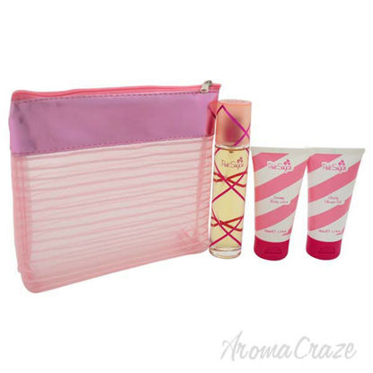 Pink Sugar by Aquolina for Women - 3 Pc Gift Set 1.7oz EDT S