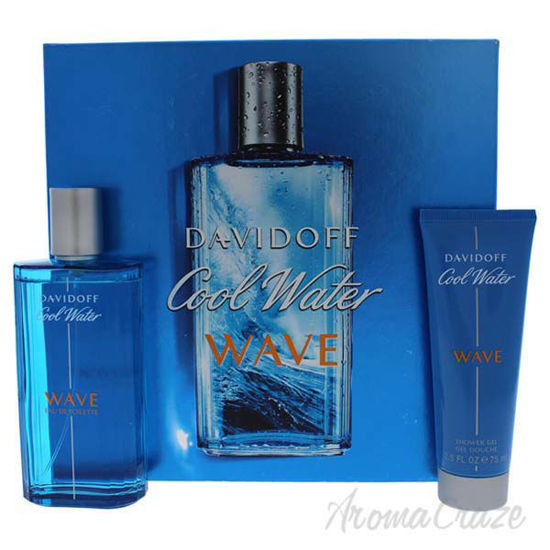 Cool Water Wave by Davidoff for Men - 2 Pc Gift Set 4.2oz ED