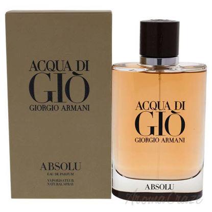 Acqua Di Gio Absolu by Giorgio Armani for Men - 4.2 oz EDP S