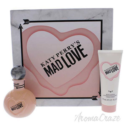 Mad Love by Katy Perry for Women - 2 Pc Gift Set 3.4oz EDP S