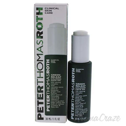 Green Releaf Calming Face Oil by Peter Thomas Roth for Women