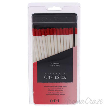 Reusable Cuticle Sticks by OPI for Women - 48 Pc Sticks