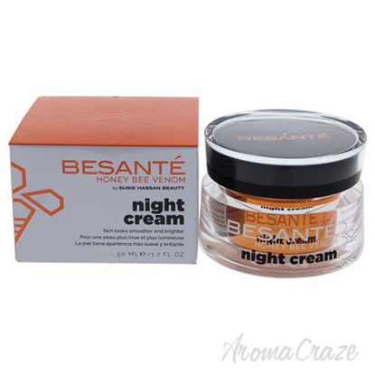 Besante Night Cream by Susie Hassan for Women - 1.7 oz Cream