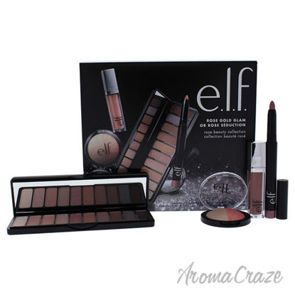 Rose Gold Glam Beauty Collection by e.l.f. for Women - 4 Pc