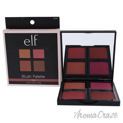 Blush Palette - Dark by e.l.f. for Women - 0.56 oz Blush