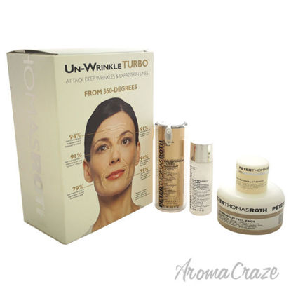 Un-Wrinkle Kit by Peter Thomas Roth for Unisex - 4 Pc Kit 20