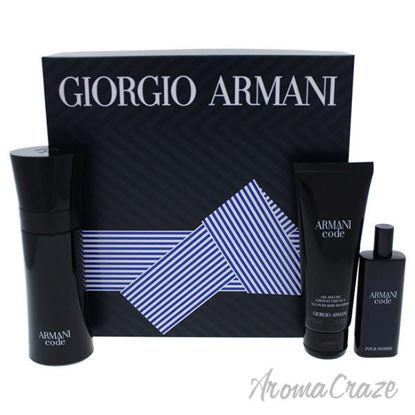 Armani Code by Giorgio Armani for Men - 3 Pc Gift Set 2.5oz
