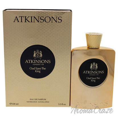 Oud Save The King by Atkinsons for Men - 3.3 oz EDP Spray