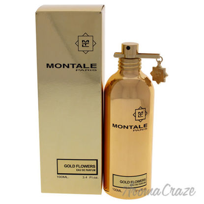 Gold Flowers by Montale for Unisex - 3.4 oz EDP Spray