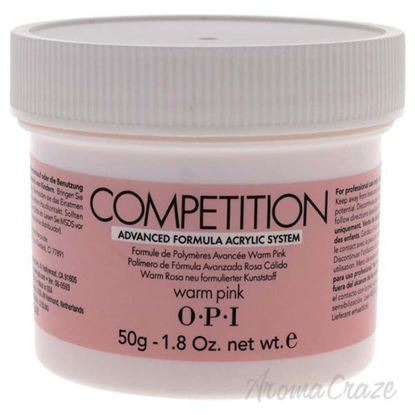 Competition Warm Pink by OPI for Women - 1.8 oz Acrylic Powd