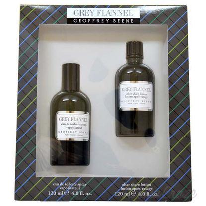 Grey Flannel by Geoffrey Beene for Men - 2 Pc Gift Set 4oz E