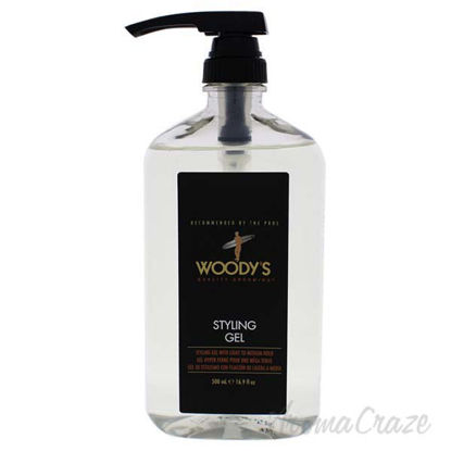 Styling Gel with Light to Medium Hold by Woodys for Men - 16