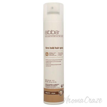 Firm Hold Hair Spray by ABBA for Unisex - 10 oz Hair Spray