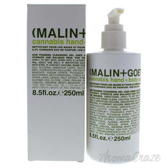 Cannabis Hand and Body Wash by Malin + Goetz for Unisex - 8.
