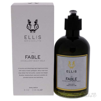 Fable Excellent Body Milk by Ellis Brooklyn for Unisex - 8 o