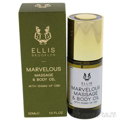 Marvelous Massage and Body Oil by Ellis Brooklyn for Unisex