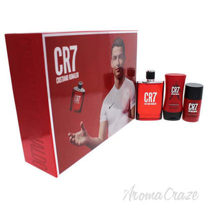 CR7 by Cristiano Ronaldo for Men - 3 Pc Gift Set 3.4oz EDT S