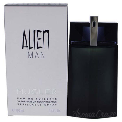 Alien Man by Thierry Mugler for Men - 3.4 oz EDT Spray