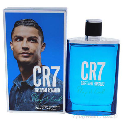 CR7 Play It Cool by Cristiano Ronaldo for Men - 3.4 oz EDT S