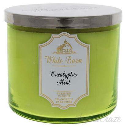 Eucalyptus Mint 3-Wick Candle by Bath and Body Works for Uni
