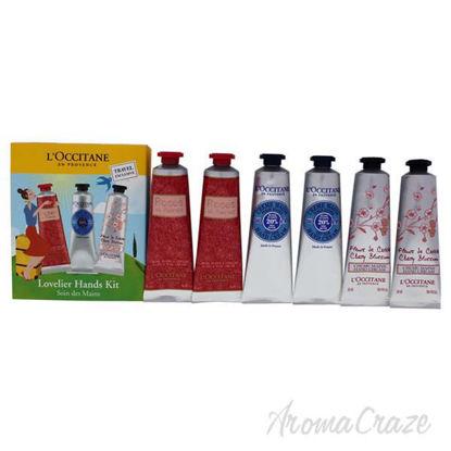 Lovelier Hands Kit by LOccitane for Unisex - 6 Pc 2 x 1oz Ro