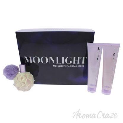 Moonlight by Ariana Grande for Women - 3 Pc Gift Set 3.4oz E