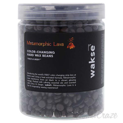 Metamorphic Lava Hard Wax Beans by Wakse for Unisex - 4.8 oz
