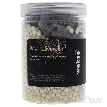 Royal Lavender Tea Infusion Hard Wax Beans by Wakse for Unis