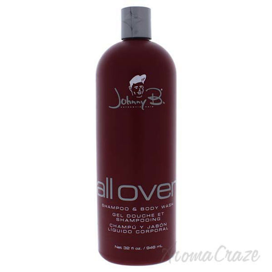 All Over Shampoo and Body Wash by Johnny B for Men - 32 oz S