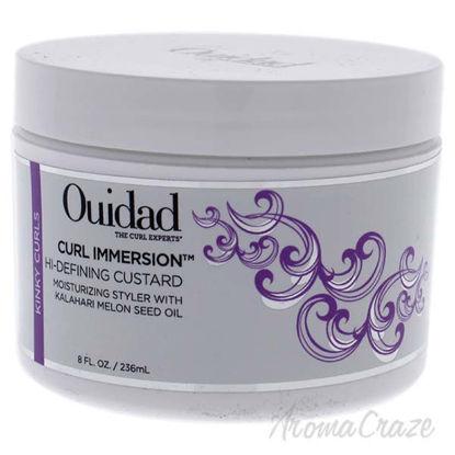 Curl Immersion Hi-Defining Custard by Ouidad for Unisex - 8
