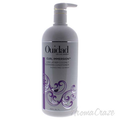Curl Immersion Low-Lather Coconut Cleansing Conditioner by O