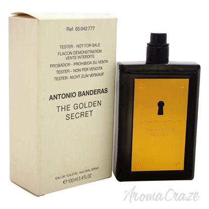 The Golden Secret by Antonio Banderas for Men - 3.4 oz EDT S