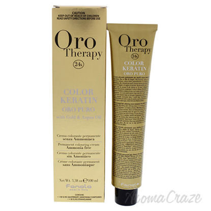 Oro Therapy Color Keratin - 7-00 Intense Blonde by Fanola fo