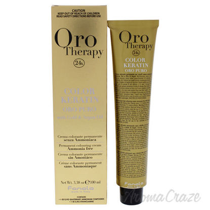 Oro Therapy Color Keratin - 8-4 Light Blonde Copper by Fanol