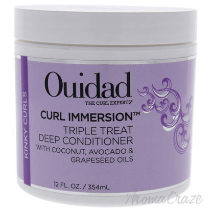 Curl Immersion Triple Treat Deep Conditioner by Ouidad for U