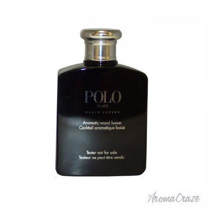 Ralph Lauren Polo Black EDT Spray (Tester) for Men 4.2 oz