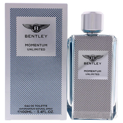 Momentum Unlimited by bentley for Men - 3.4 oz EDT Spary