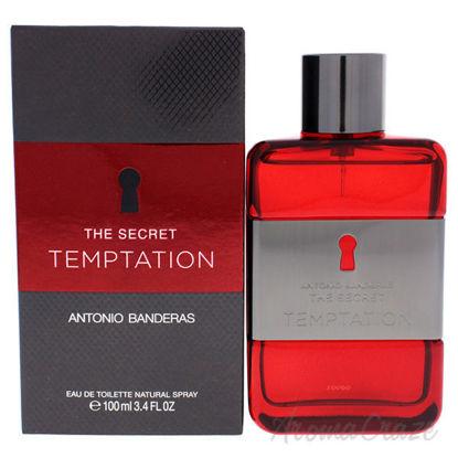 The Secret Temptation by Antonio Banderas for Men - 3.4 oz E