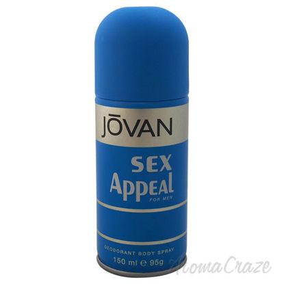 Jovan Sex Appeal by Jovan for Men - 5 oz Deodorant Body Spra