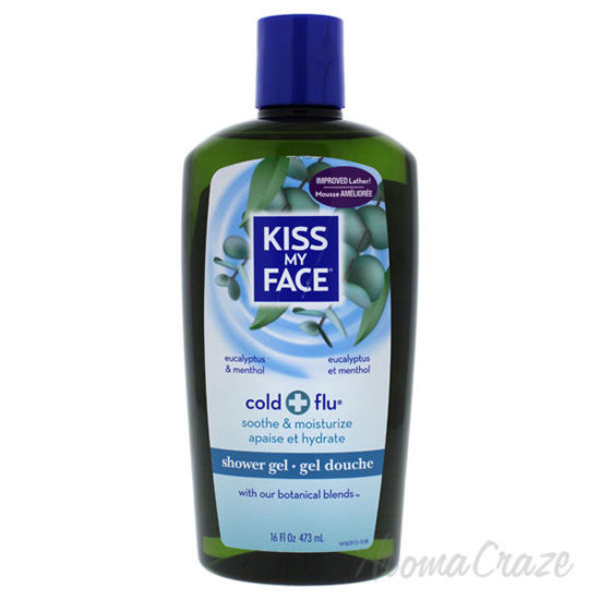 Cold Plus Flu Shower Gel - Eucalyptus and Menthol by Kiss My