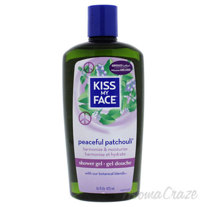 Peaceful Patchouli Shower Gel by Kiss My Face for Unisex - 1