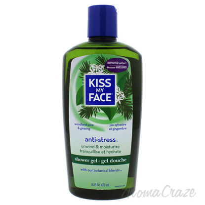 Anti-Stress Shower Gel - Woodland Pine and Ginseng by Kiss M