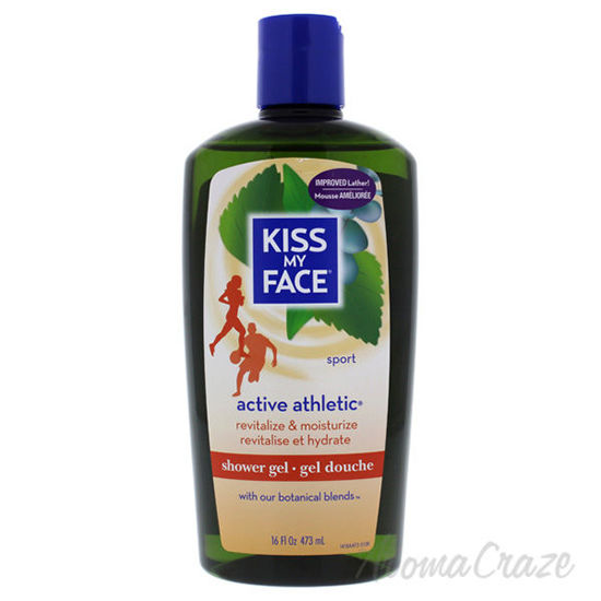 Active Athletic Shower Gel - Birch and Eucalyptus by Kiss My