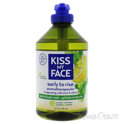 Early to Rise Bath and Body Wash - Wild Mint and Citrus by K
