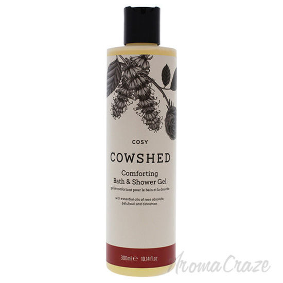 Cosy Comforting Bath and Shower Gel by Cowshed for Unisex -