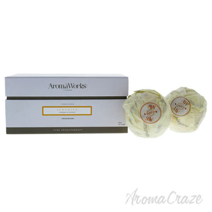 Serenity AromaBomb Duo by Aromaworks for Unisex - 2 x 8.81 o