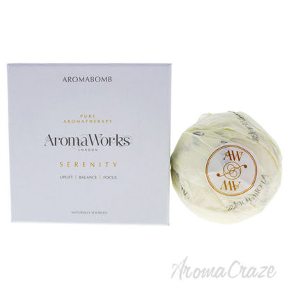 Serenity AromaBomb Single by Aromaworks for Unisex - 8.81 oz