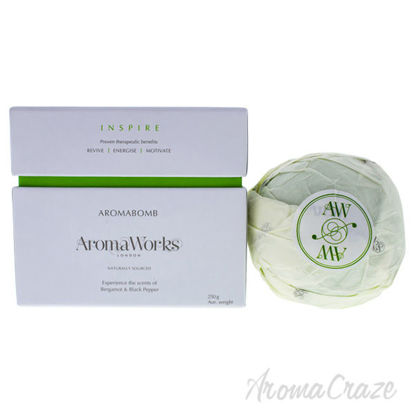 Inspire AromaBomb Single by Aromaworks for Unisex - 8.81 oz